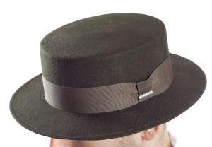 Sombrero Canotier en fieltro