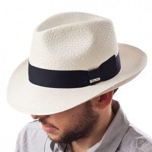 Sombrero Fedora en fibras vegetales
