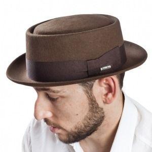 Sombrero Porkpie en fieltro