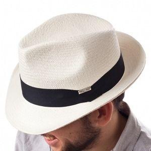 Sombrero Trilby en fibras vegetales