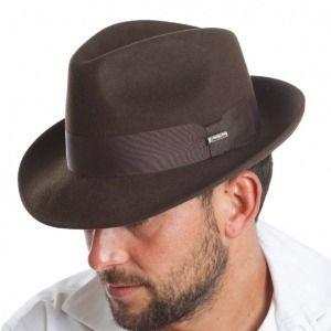 Sombrero Trilby en fieltro